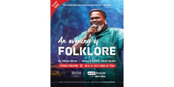Mbuso Khoza and band, LIVE in 'An Evening of Folklore' concert.
