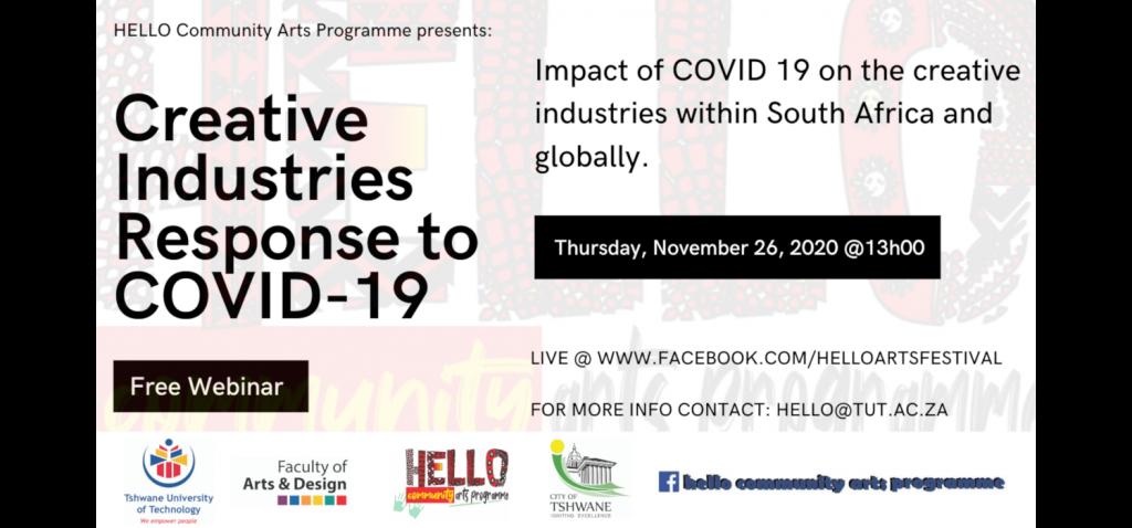 HELLO Creative Industries Webinars 13:00