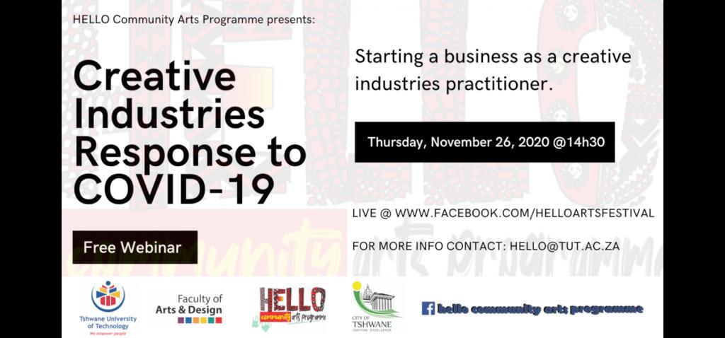 HELLO Creative Industries Webinars 14:30