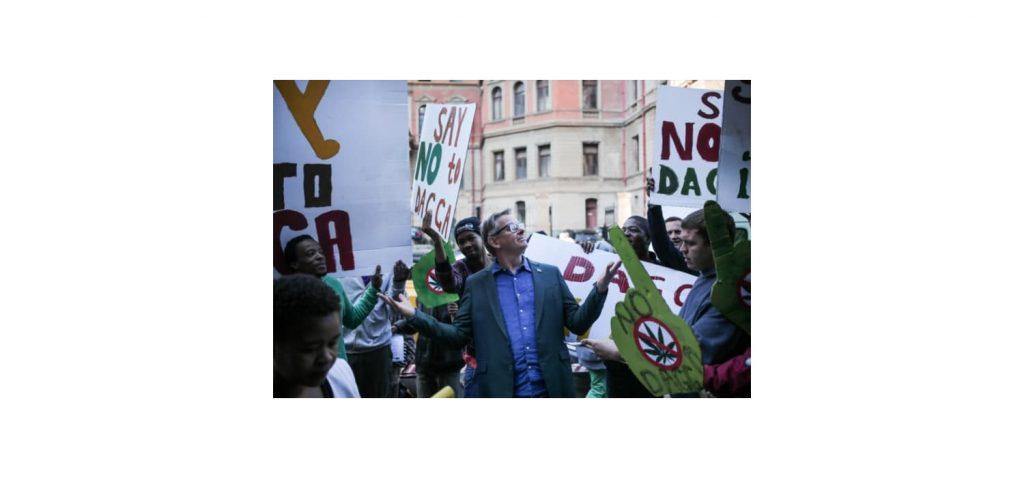 Cannabis activist Julian Stobbs