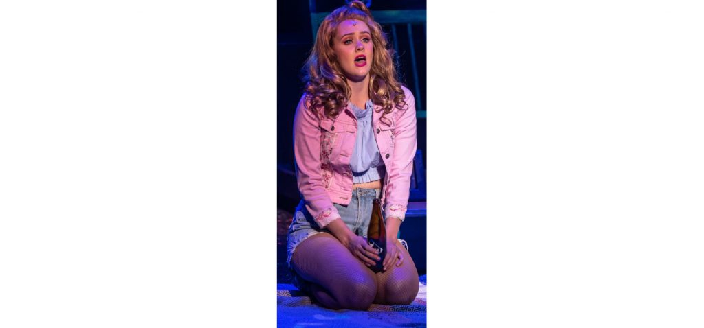 Jessica Driver as seen as Sherrie in Rock of Ages.