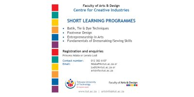 Short learning programmes in creative industries