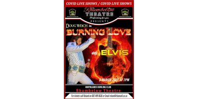 Burning Love - Elvis - Doug Weich and his band