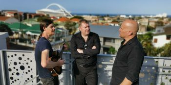 Andy Turrell, John Ellis and Evan Cullum