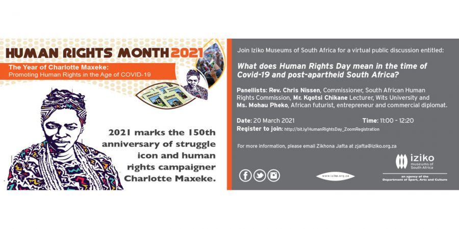 Celebrate Human Rights Day with Iziko Museums