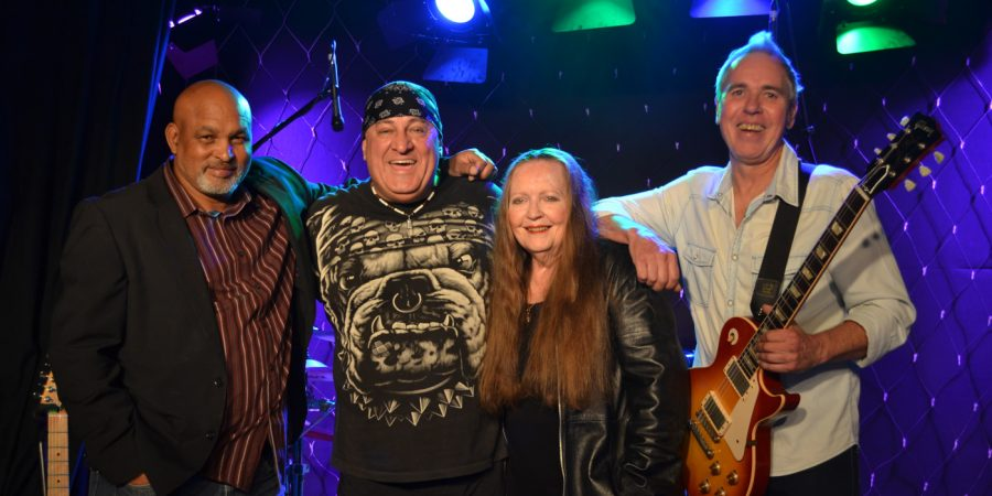 Trevor Donjeany, Mali Sewell, Dawn Selby and Barry Thomson.