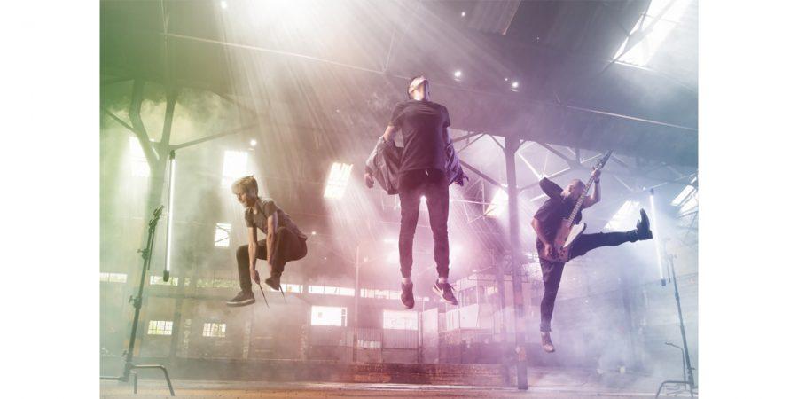 Club of Suns on the music video set of NOVA. Photo credit: Jade Holing - Photofactor.