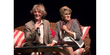 Aaron McIlroy and Lisa Bobbert. Pic by Val Adamson.