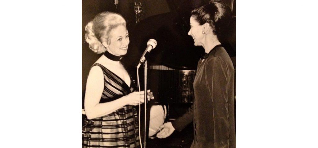 Mignon Furman with her friend Margot Fonteyn