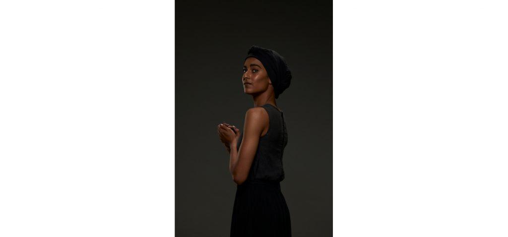 Mikayla Isaacs in INGOMA. Photo credit: Oscar O'Ryan