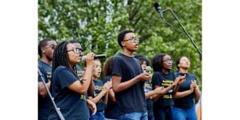 Oxon Hill High School Vocal Music Department Performance