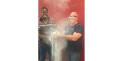 Jan Bhuda and John-Anthony Boerma from ArtAid Africa