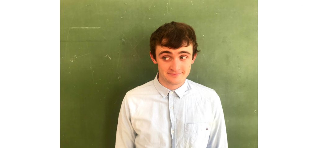 Liam Walsh in Every Brilliant Thing on 27, 28,29 May.