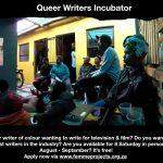Queer Writers Incubator