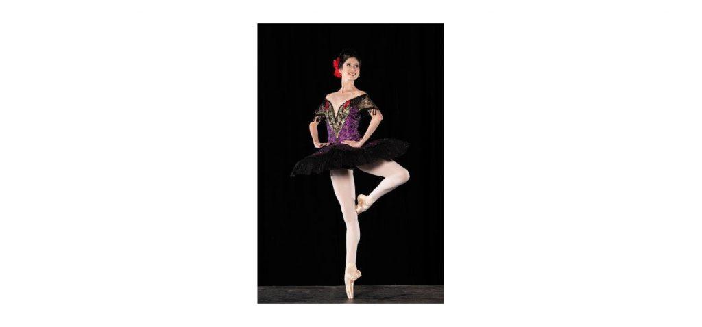 Nicole Ferreira-Dill - PAQUITA - Joburg Ballet 2021. Photo: Lauge Sorensen.
