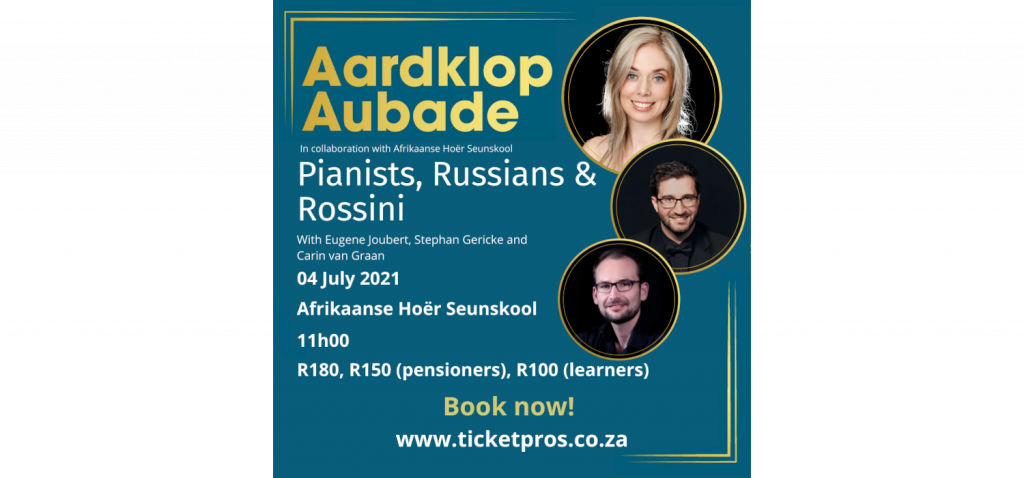 Pianists, Russians & Rossini concert at Affies