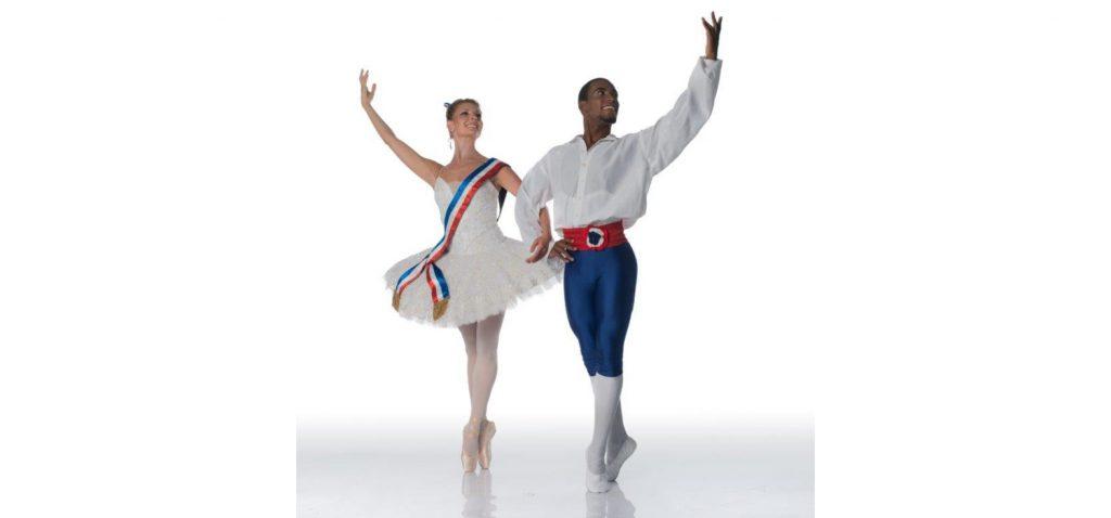 Shana Dewey and Ruan Galdino - FLAMES OF PARIS - Solo Flight - Joburg Ballet 2021. Photo: Lauge Sorensen.