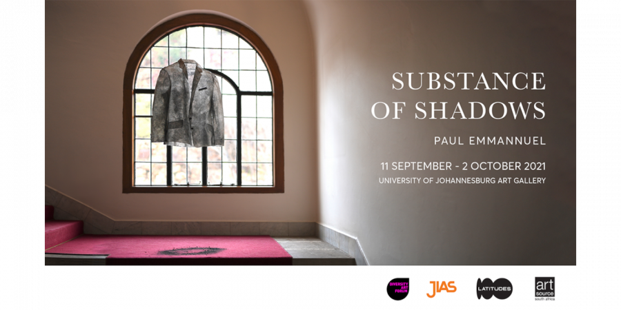 Paul Emmanuel's Substance of Shadows to open at the UJ Art Gallery