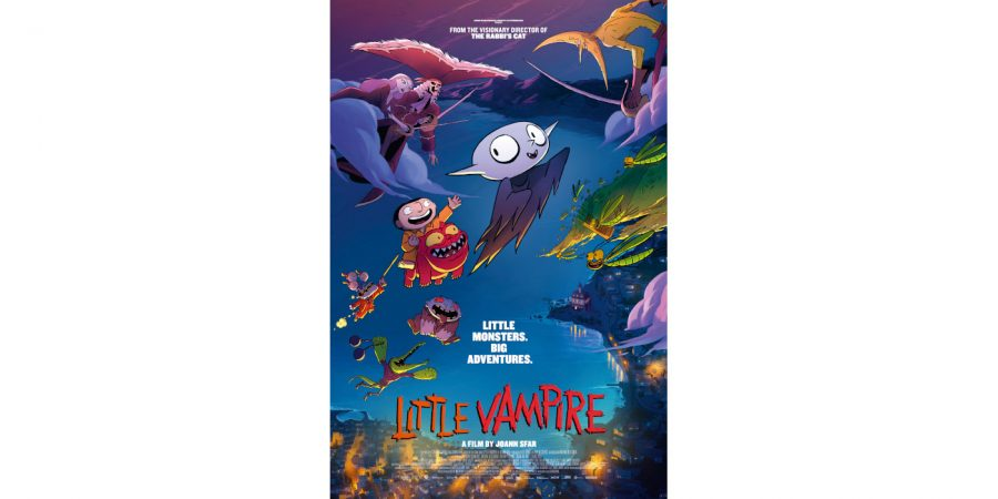 Annency award winner Petit Vampire, directed by Joann Sfar