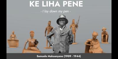 KE LIHA PENE – I lay down my pen