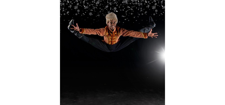 Tumelo Lekana - THE NUTCRACKER - Joburg Ballet - 2021. Photo: Lauge Sorensen.
