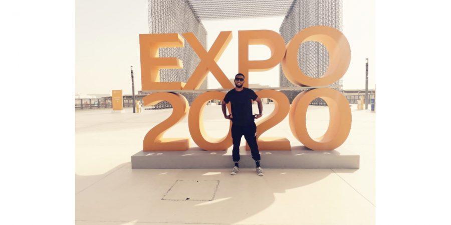 Ernest Tchwenyane – on the spot at the Dubai Expo