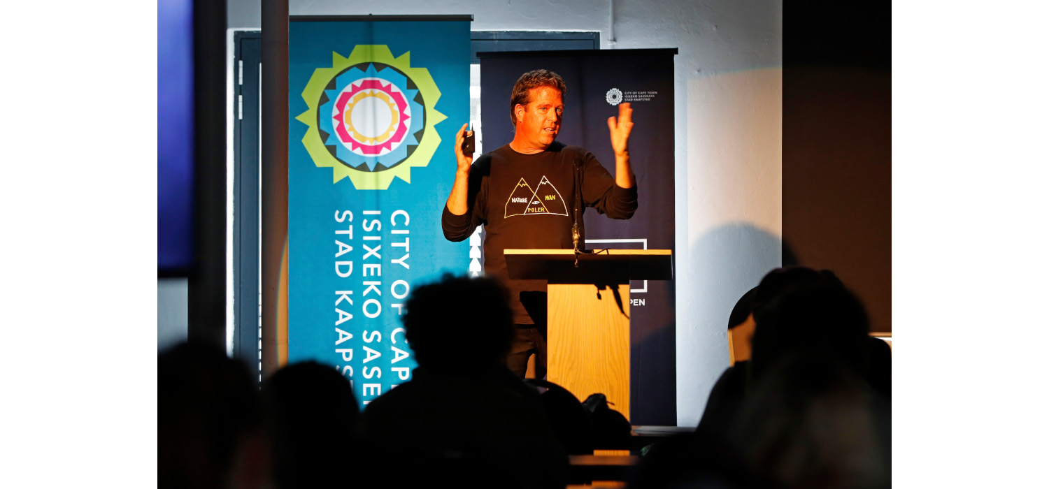 Nathan Stanton was one of the speakers at CTIAF 2021. Photo: Mark Wessels.